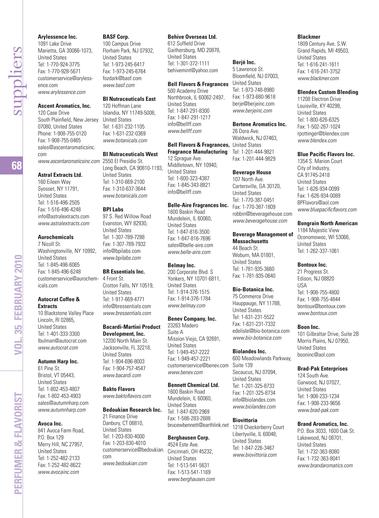 Perfumer & Flavorist - February 2010 - Page 68-69