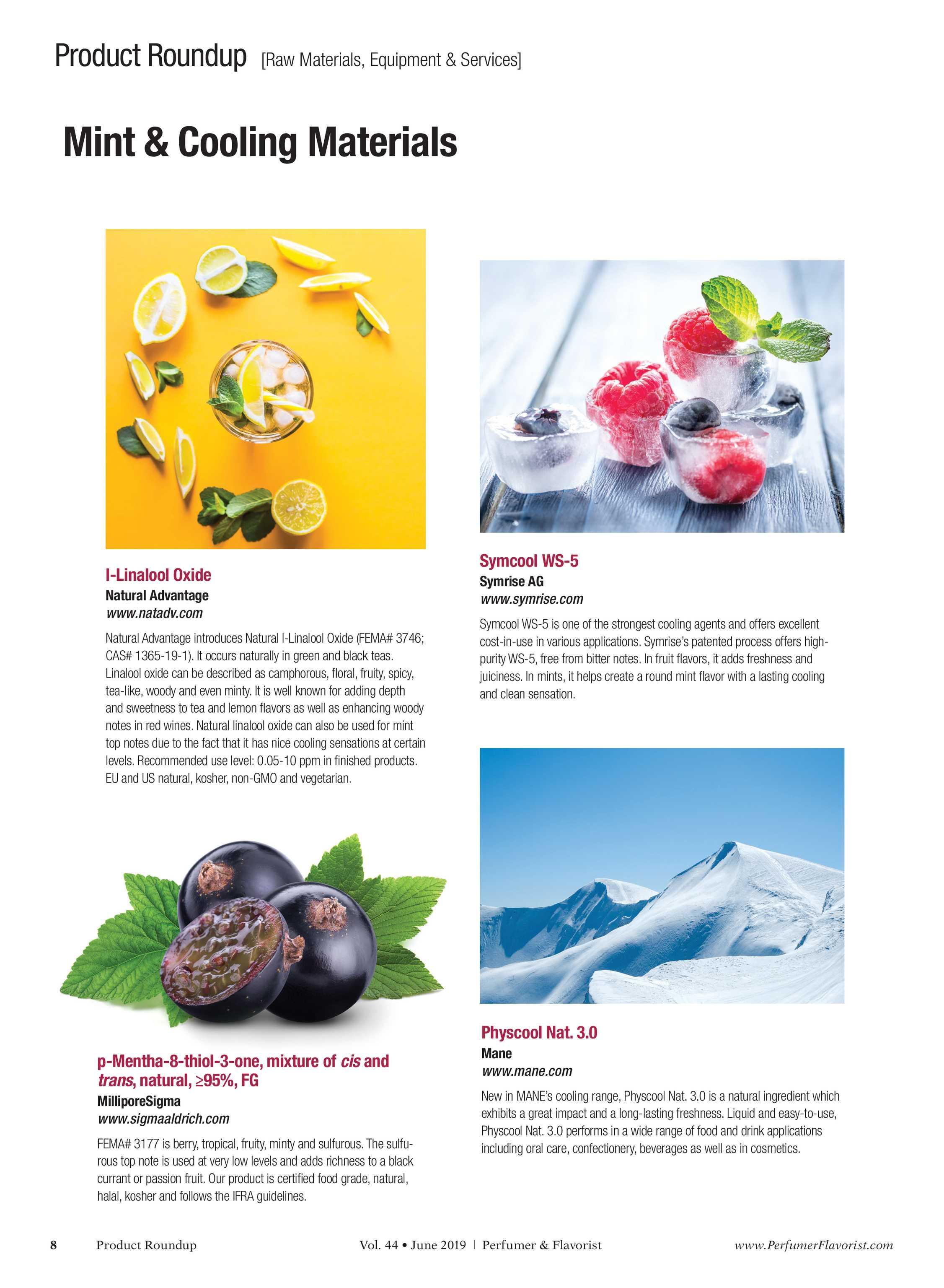 Perfumer & Flavorist - June 2019 - page 8