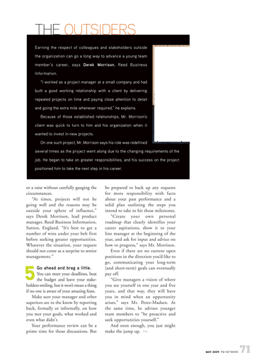 PM Network - May 2009 - Page 70-71